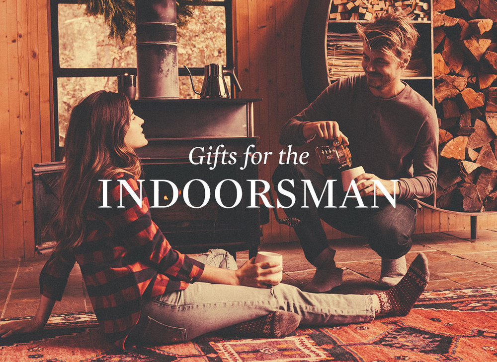 Huckberry's  Gifts for the Indoorsman (Starting at: $15+)