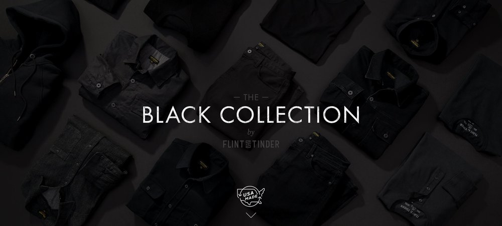Flint and Tinder's Black Collection