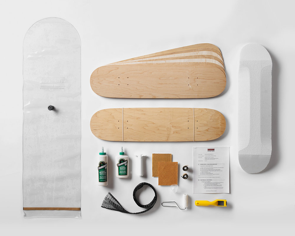 Roarockit Skate Deck Building Kit: $175