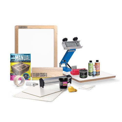 DIY Screen Printing Kits: $200+
