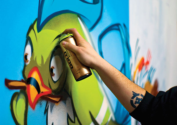 Montana Gold Acrylic Spray Paints: $8