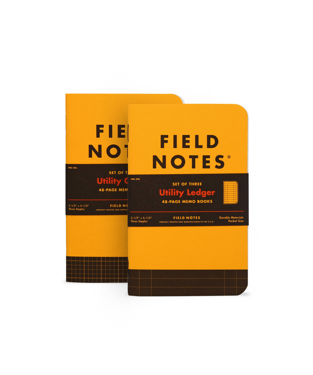 Field Notes Utility Memo Books: $13