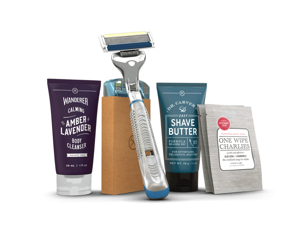Dollar Shave Club Starter Kits ($5+)