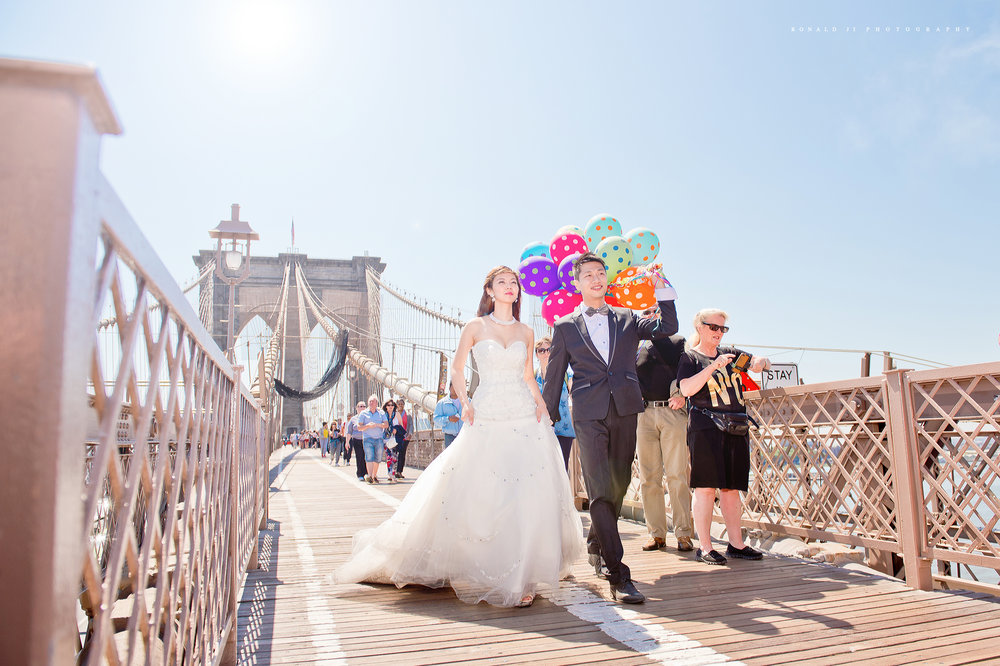 「布魯克林大橋Brooklyn Bridge」By Ronald Ji