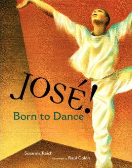 Front Cover,  José! Born to Dance.
