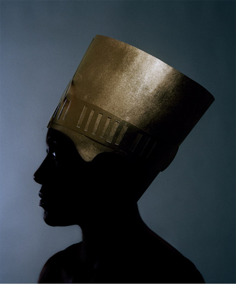 "Shani Peters, Nefertiki Past (from the Crown Portrait series), 2015; archival digital print, 16""x20"""