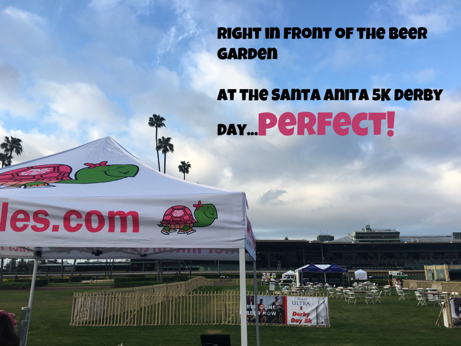 Pink Turtles 5K Santa Anita Derby Day