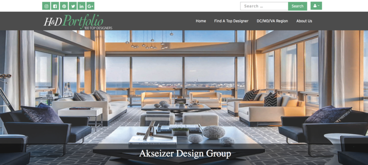 adg featured as one of h d portfolio s top interior design firms