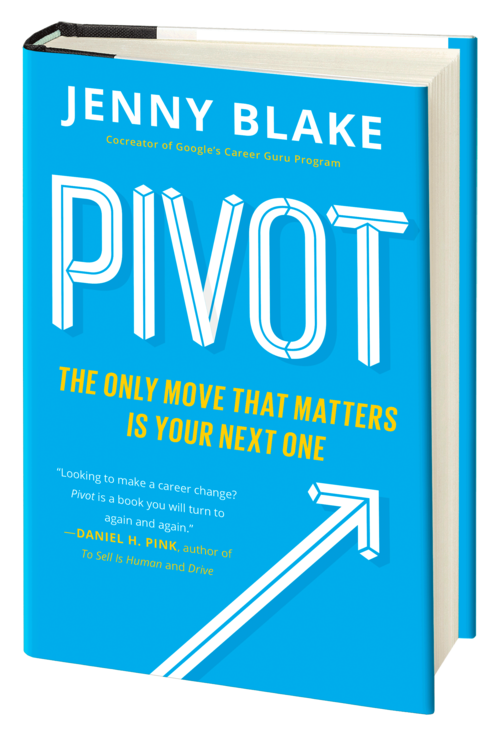 photo of front cover of Pivot