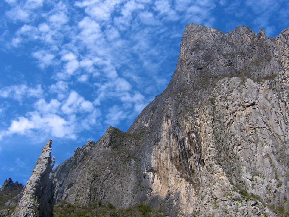 Portrero Chico limestone rock climbing