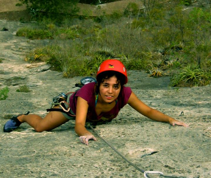 Climbing in Portrero Chico
