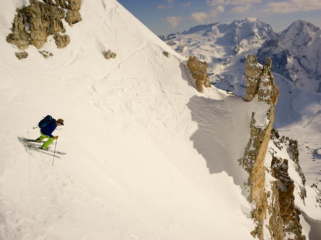 Dolomites Off Piste Skiing