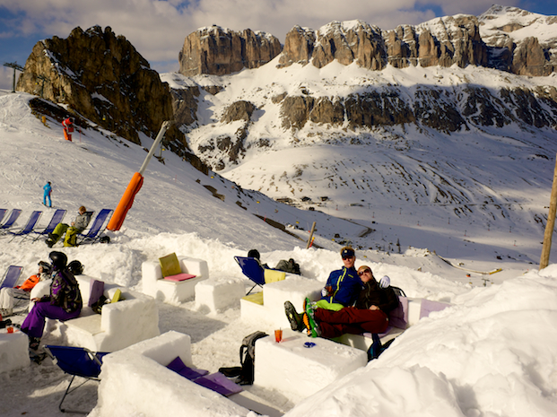 Dolomites Ice Bar