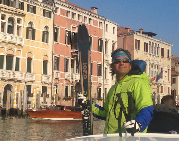 Skiing Venice
