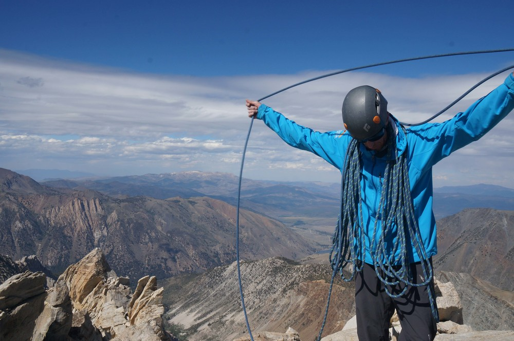 Guiding in the High Sierra of California