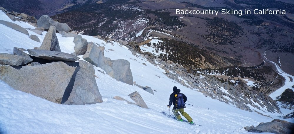 Ski Mountaineering Eastern Sierra