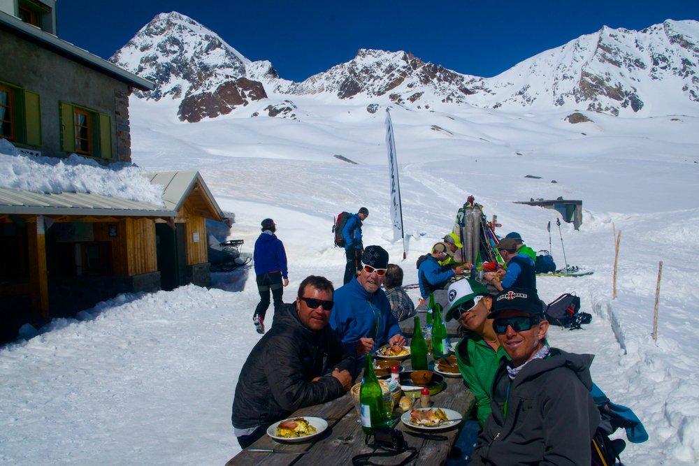 The Pizzini hut