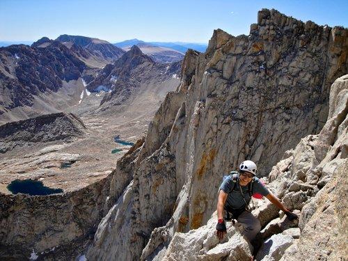 alpine rock climbing course sierra nevada