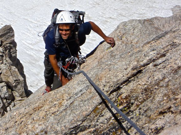 Climbing the North Arete of Matterhorn Peak