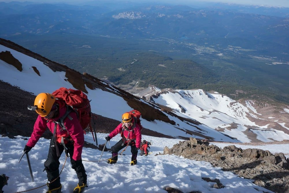 Climbing the West Face of Mount Shasta