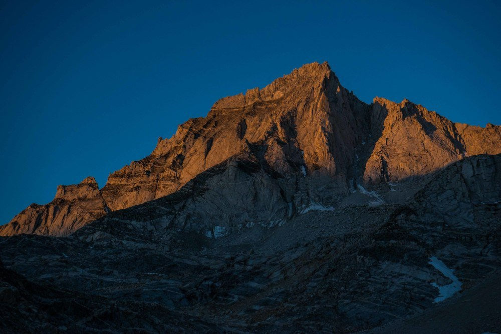 Alpenglow on Bear Creek Spire
