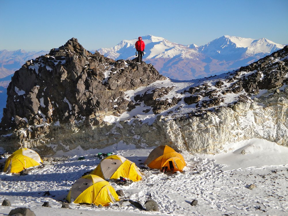 High camp on Aconcagua