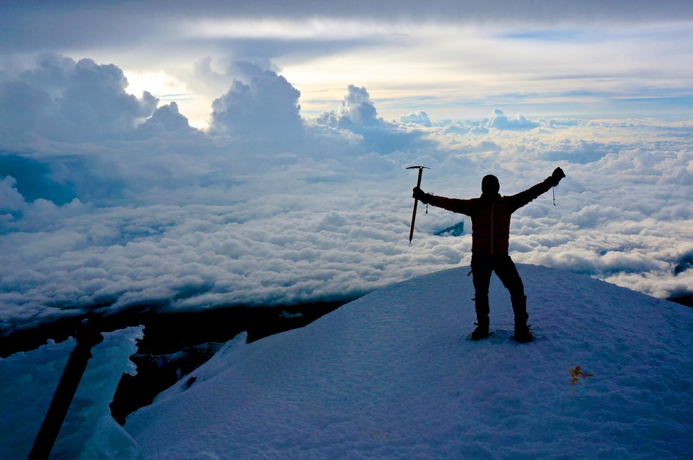 Summit of Pico de Orizaba