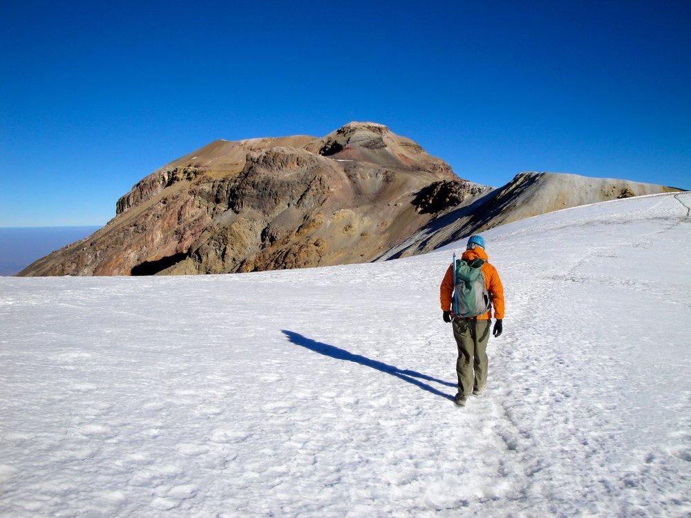 Climbing Izztacihuatl