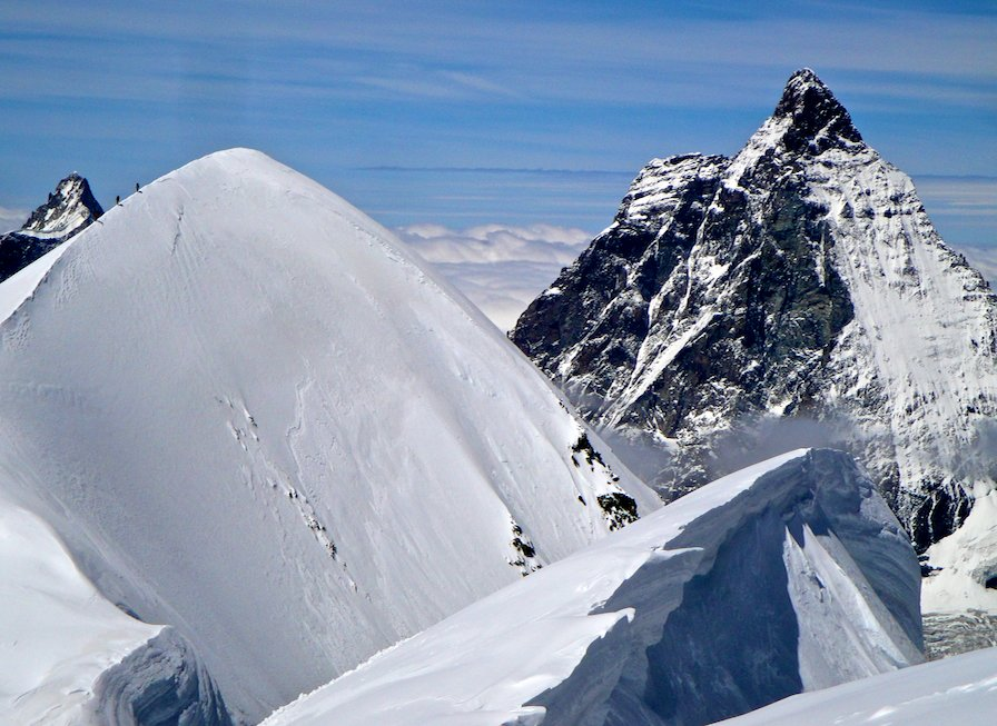 The Matterhorn from the Breithorn