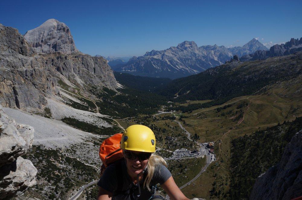 Climbing on the Hexenstein