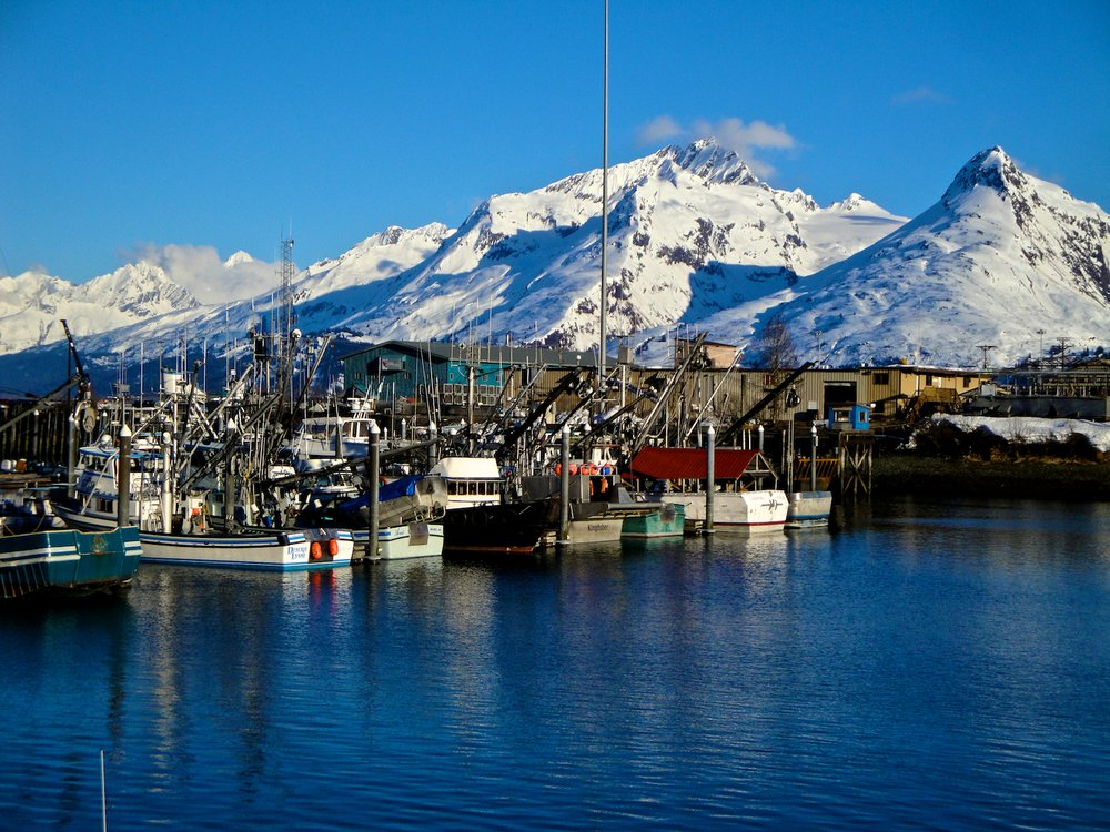 The port of Valdez