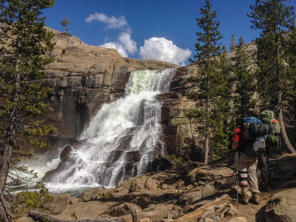 Glen Aulin Waterfall