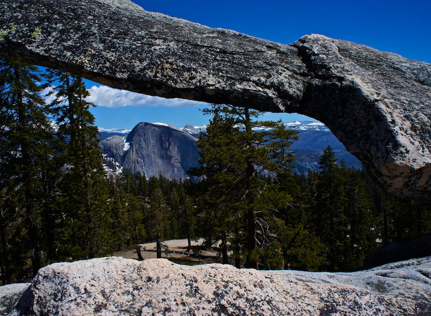 Natural Arch Yosemite High Country