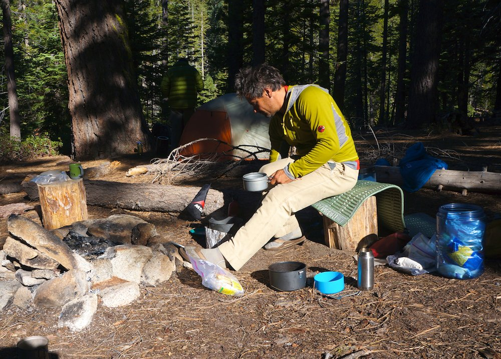 Backpacking cooking