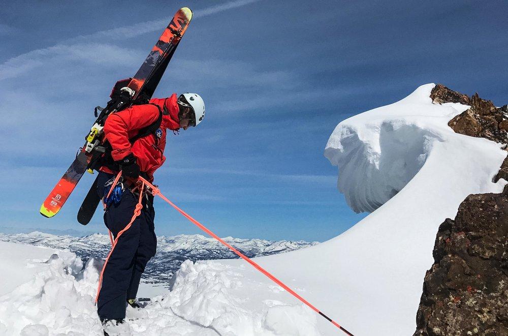 Dave ski mountaineering