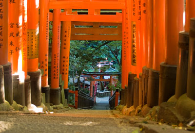 Red Gates at Fushimi-Inari Taisha