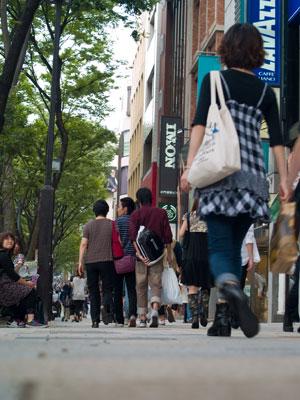 Streetlife in Harajuku