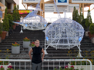Three Whales at Osaka Aquarium :)