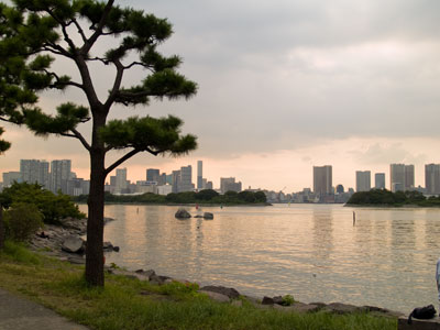 Tokyo from Odaiba