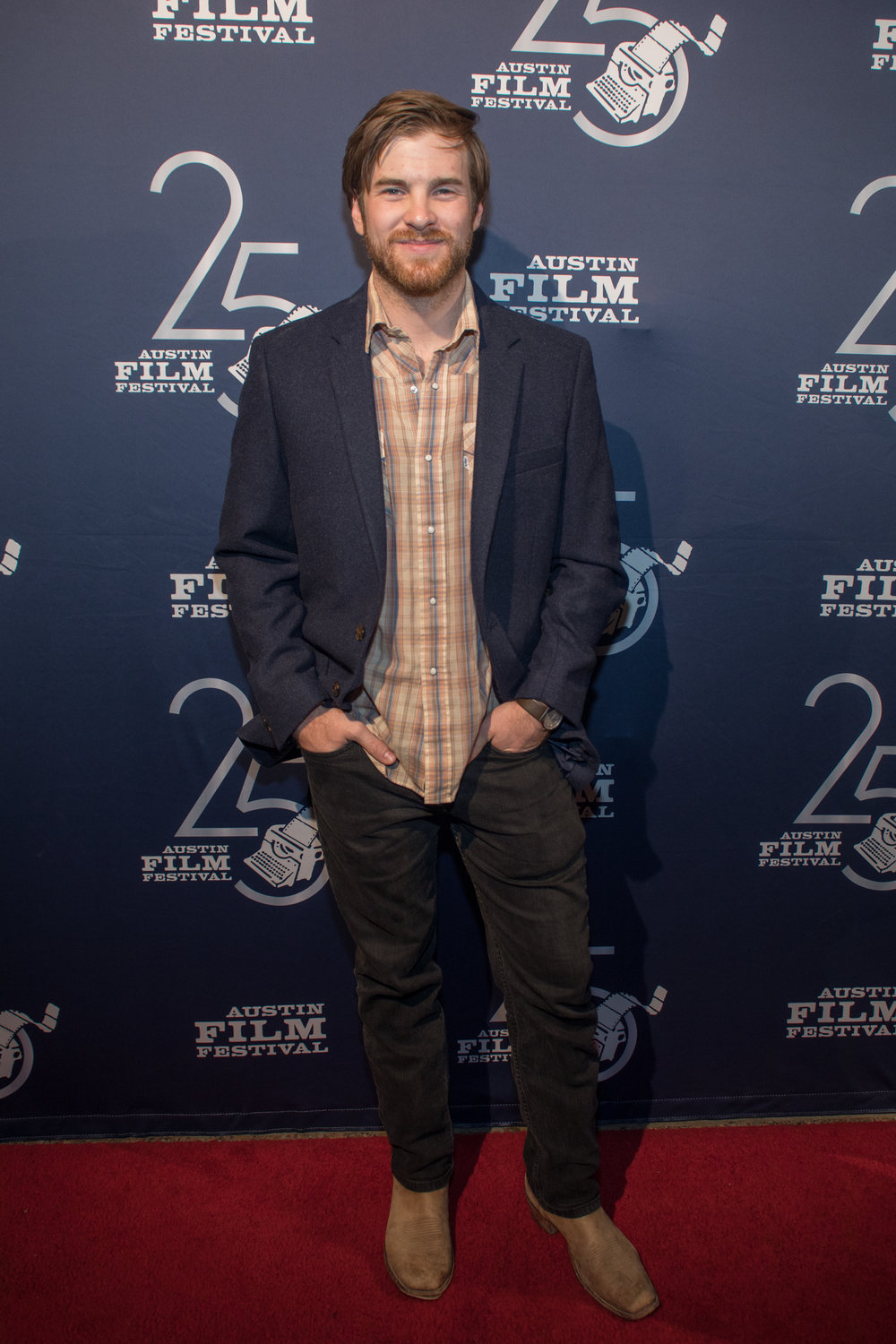 Tyler Russell at the 2018 Austin Film Festival.