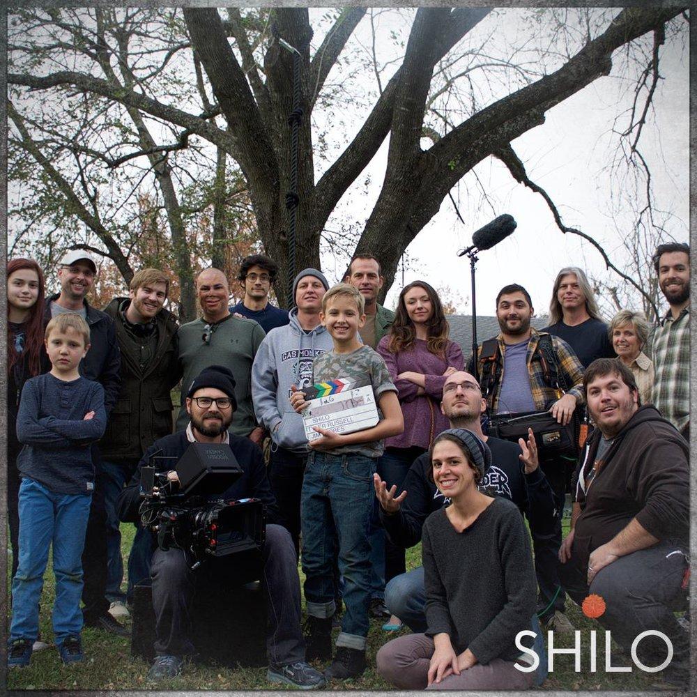 """""""Shilo"""" cast and crew."""