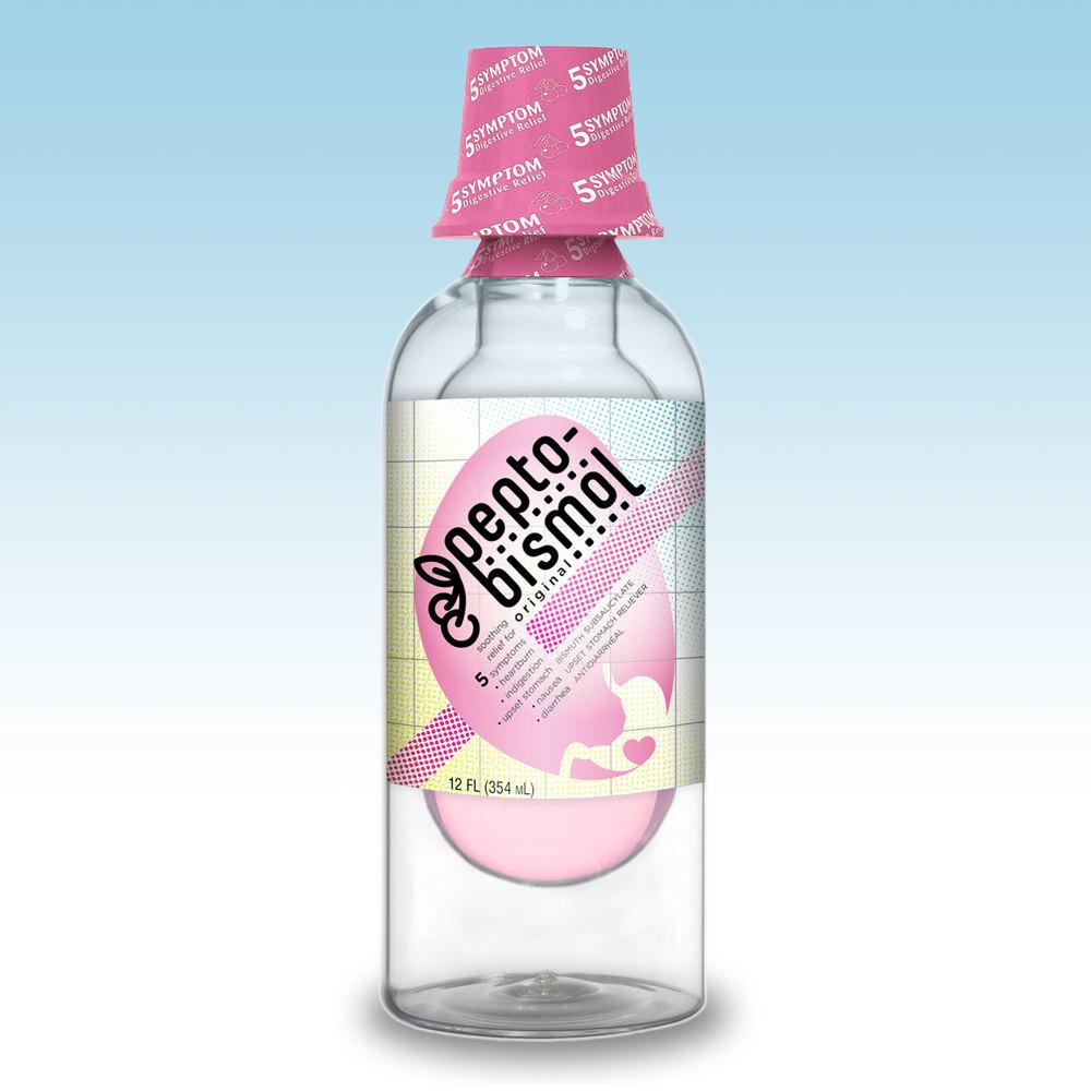 Pepto-Bismol Label Rebrand