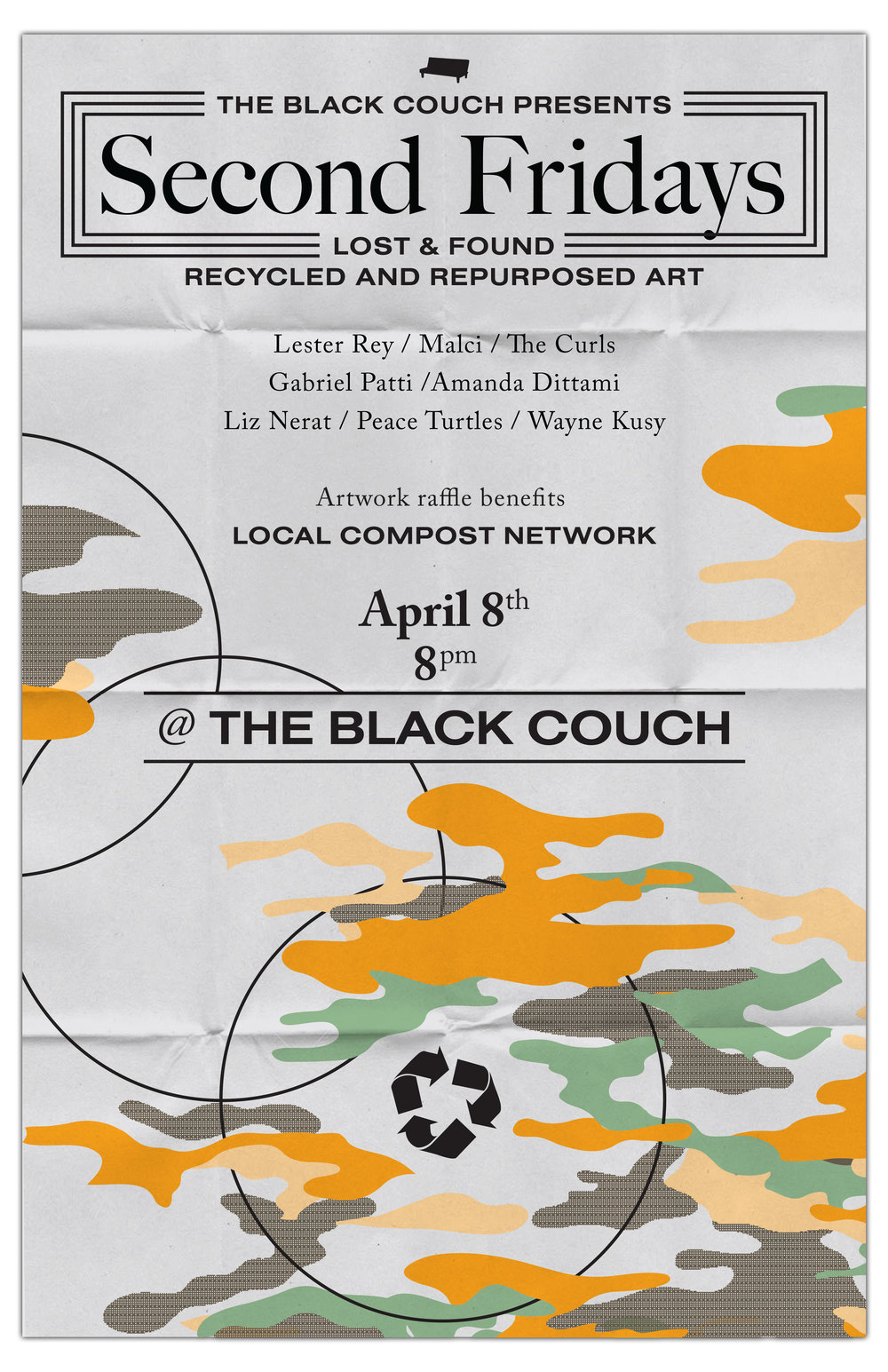 Second Fridays @ The Black Couch: Lost & Found