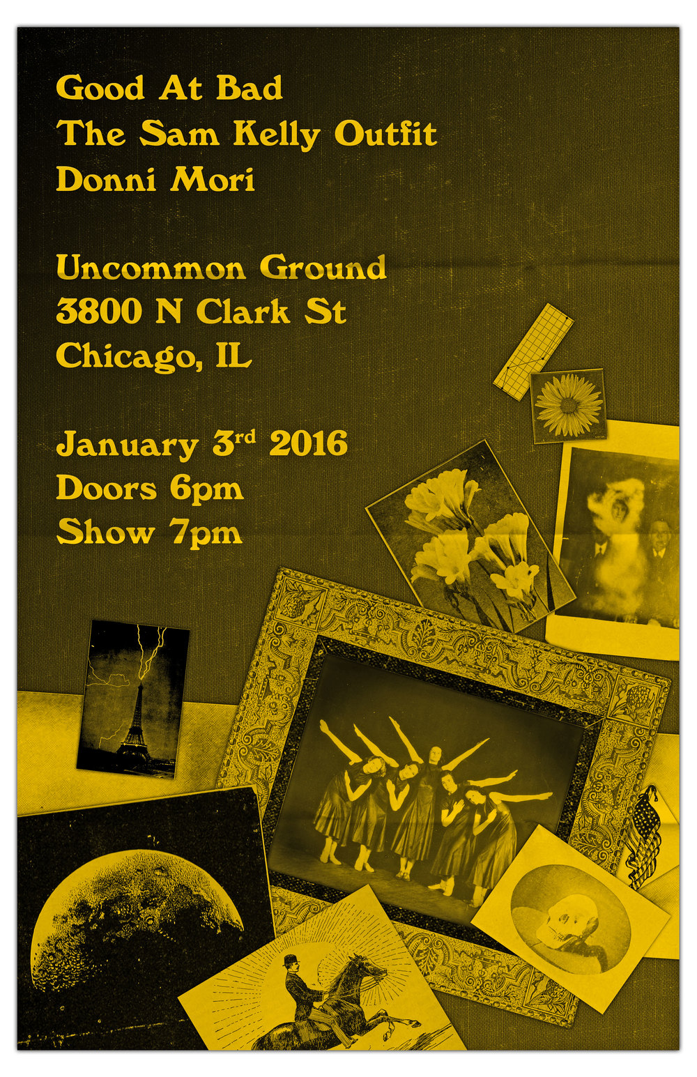 LIVE @ Uncommon Ground