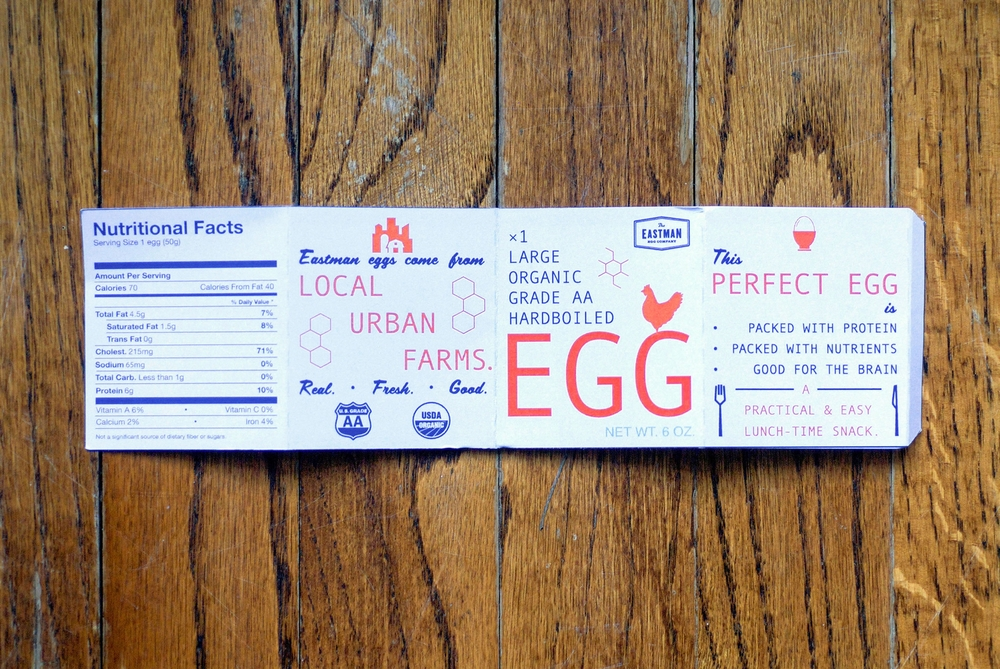 The Eastman Egg: Single-Use Carton