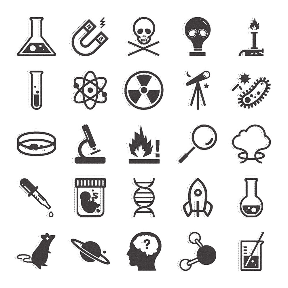 Noun Project Icons: Science & Industry