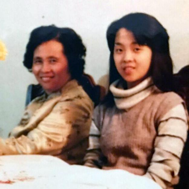 jo & mom