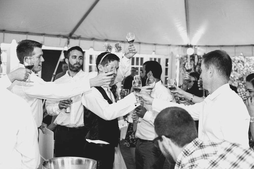 Cheers!   | #HisQueenHerEngelking Wedding | Photography by Two Arrows Photography at twoarrowsphoto.com