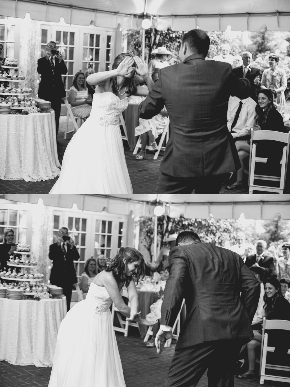 The Bride Dancing with Her Father   | #HisQueenHerEngelking Wedding | Photography by Two Arrows Photography at twoarrowsphoto.com