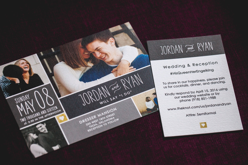 Wedding Invitations   | #HisQueenHerEngelking Wedding | Photography by Two Arrows Photography at twoarrowsphoto.com